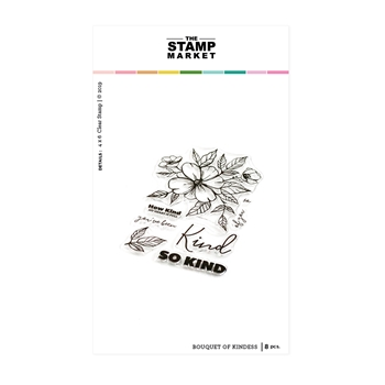 The Stamp Market BOUQUET OF KINDNESS Clear Stamp Set tsm114