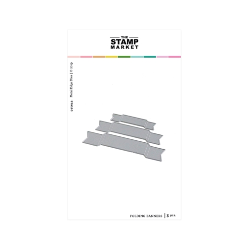 The Stamp Market FOLDING BANNERS Die Set tsm2093 Preview Image
