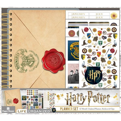 Paper House HARRY POTTER MINI PLANNER SET PLS-1000 Preview Image
