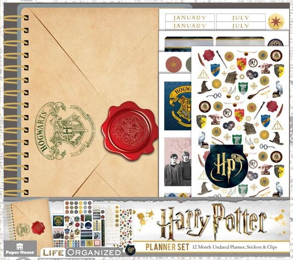 Paper House HARRY POTTER MINI PLANNER SET PLS-1000 zoom image