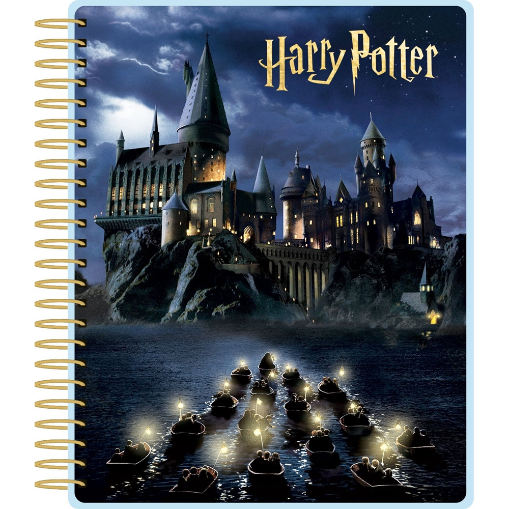 Paper House HARRY POTTER HOGWARTS AT NIGHT 12 MONTH PLANNER PL-2004 zoom image