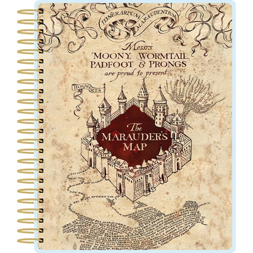 Paper House HARRY POTTER MARAUDER'S MAP 12 MONTH PLANNER PL-2005 Preview Image