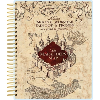 Paper House HARRY POTTER MARAUDER'S MAP 12 MONTH PLANNER PL-2005