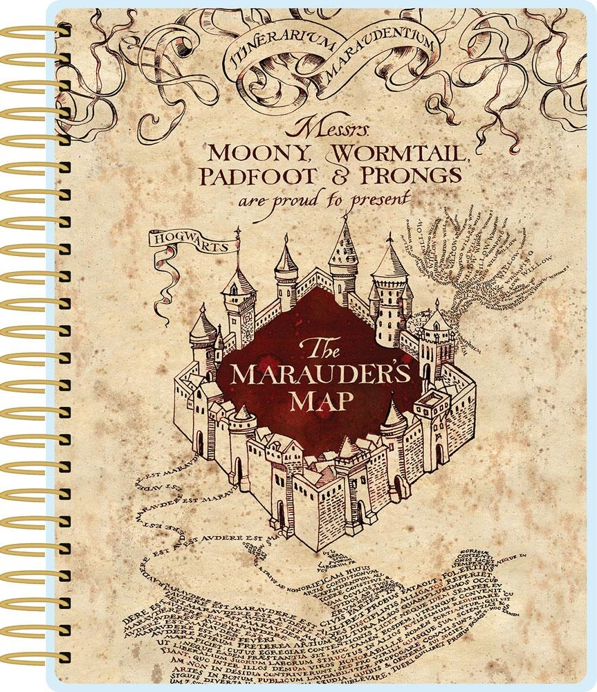 Paper House HARRY POTTER MARAUDER'S MAP 12 MONTH PLANNER PL-2005 zoom image