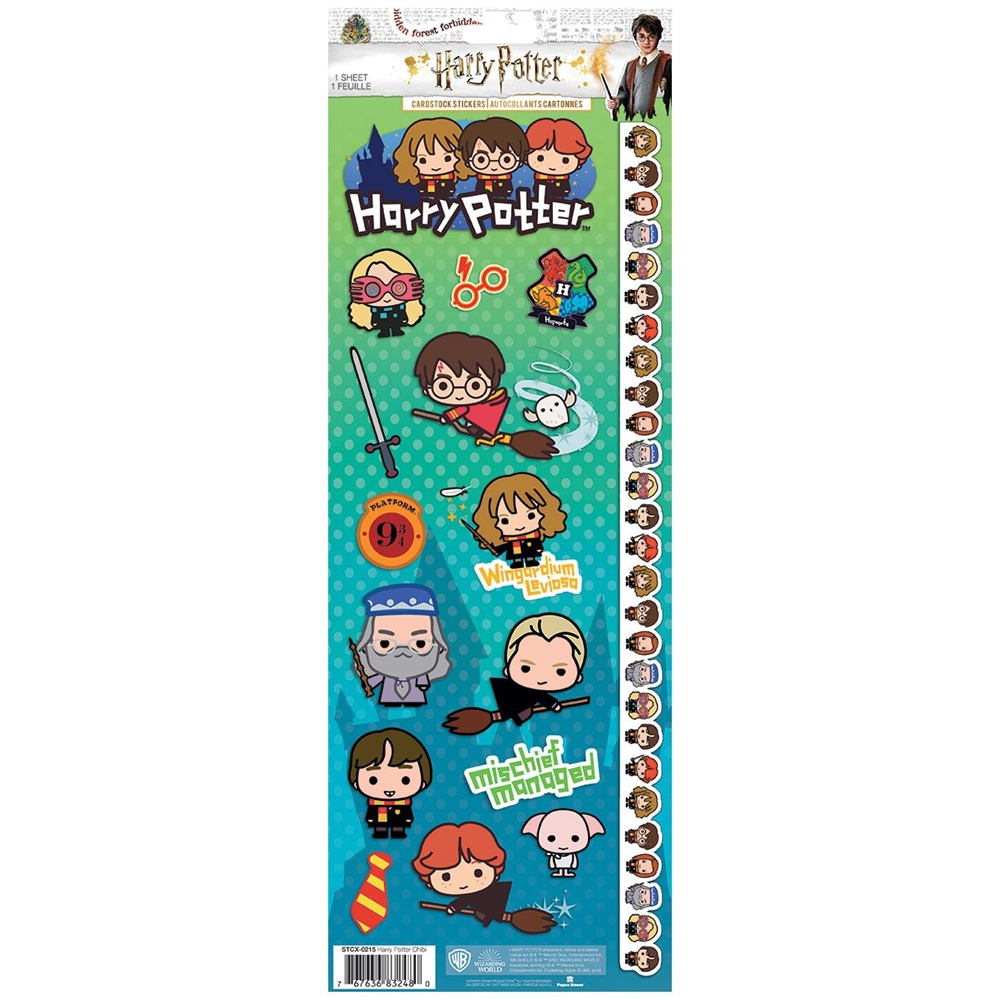 Paper House HARRY POTTER CHIBI CARDSTOCK STICKERS STCX-0215E  zoom image