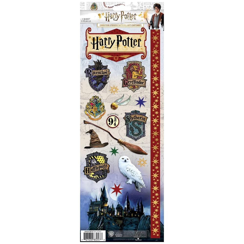 Paper House HARRY POTTER CARDSTOCK STICKERS STCX-0214E zoom image