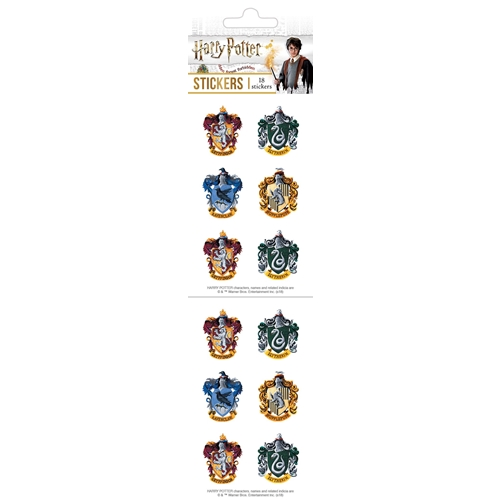Paper House HARRY POTTER CRESTS STICKER PACK ST-7005E Preview Image