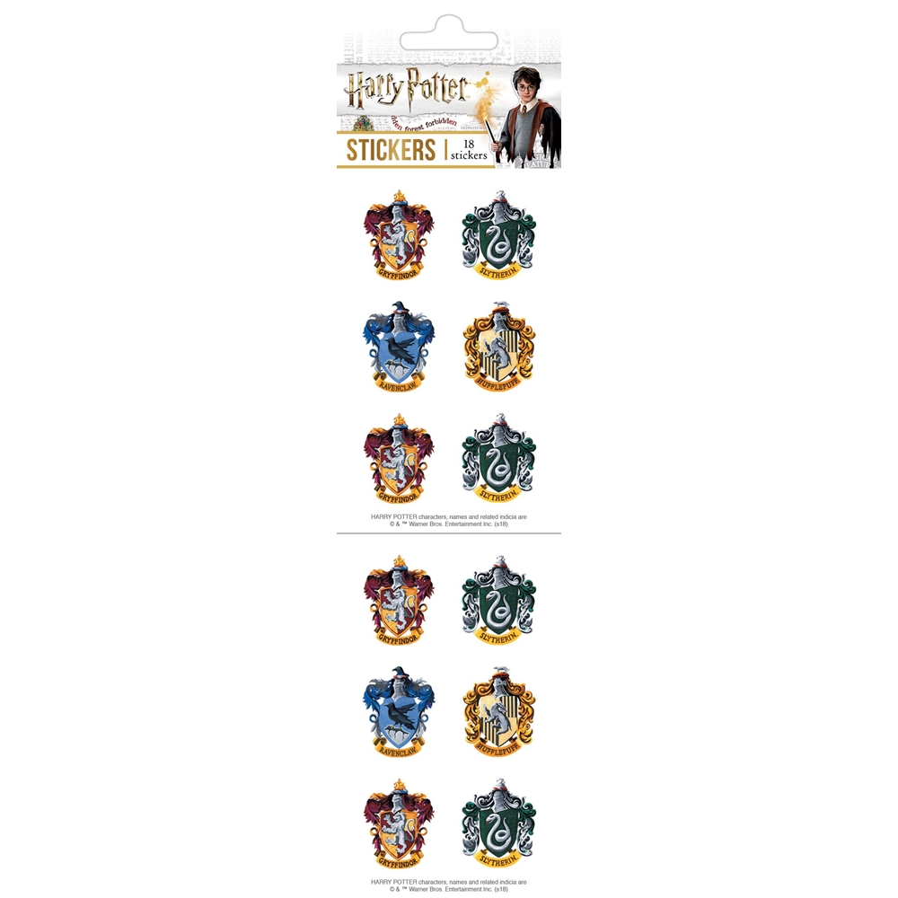 Paper House HARRY POTTER CRESTS STICKER PACK ST-7005E zoom image