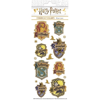 Paper House HARRY POTTER HOUSE CREST FAUX ENAMEL Stickers STFE-0029E