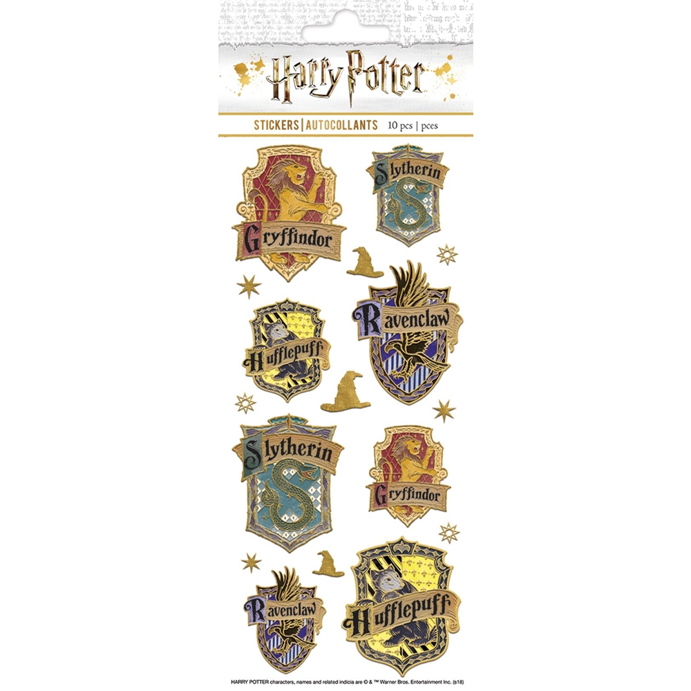Paper House HARRY POTTER HOUSE CREST FAUX ENAMEL Stickers STFE-0029E zoom image