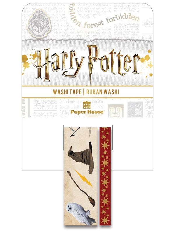 Paper House HARRY POTTER ICONS Washi Tapes STWA-0052E zoom image