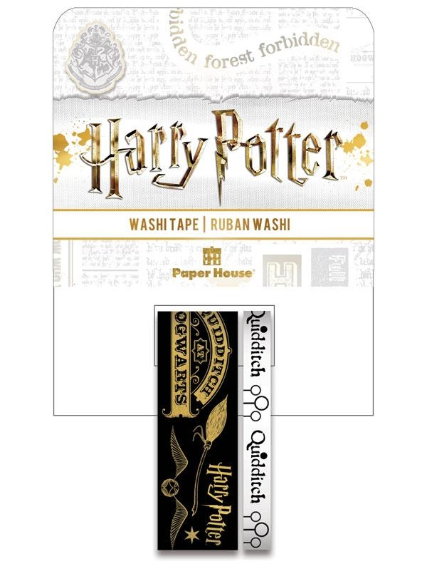 Paper House HARRY POTTER QUIDDITCH Washi Tapes STWA-0048E zoom image