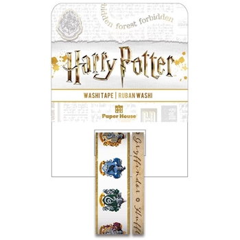 Paper House HARRY POTTER HOUSE CRESTS Washi Tapes  STWA-0051E