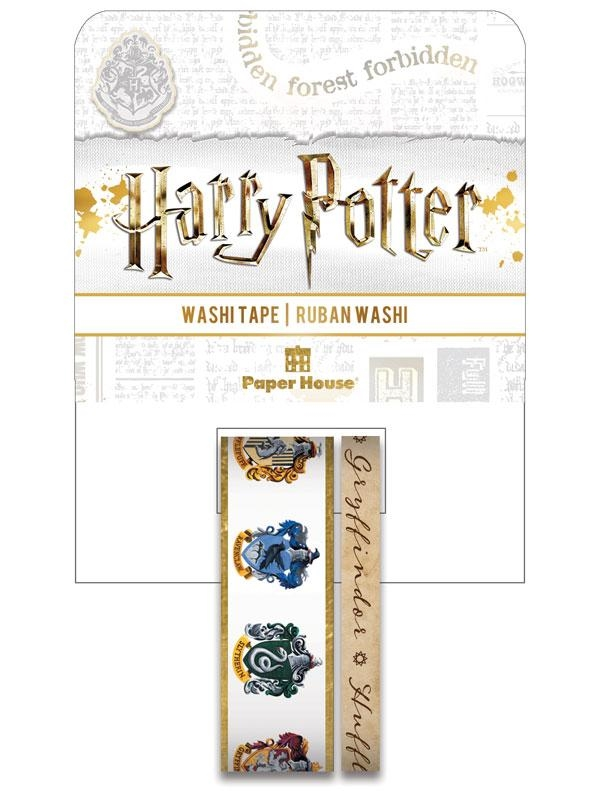 Paper House HARRY POTTER HOUSE CRESTS Washi Tapes  STWA-0051E zoom image