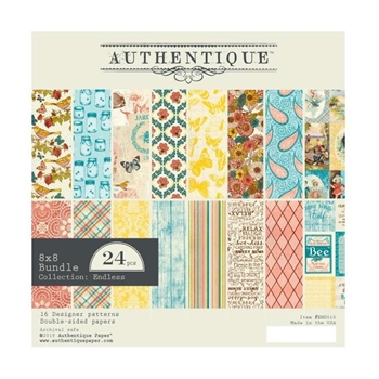 Authentique 8 x 8 ENDLESS Paper Pad end010