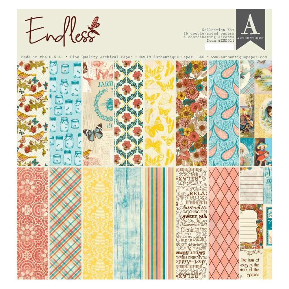 Authentique ENDLESS 12 x 12 Collection Kit end011 zoom image