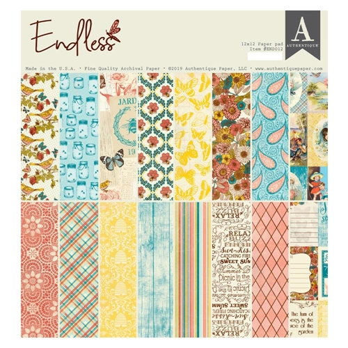 Authentique ENDLESS 12 x 12 Paper Pad end012 Preview Image