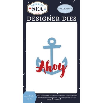 Carta Bella AHOY ANCHOR Dies Set cbdb102041