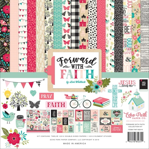 Echo Park FORWARD WITH FAITH 12 x 12 Collection Kit fwf183016 Preview Image