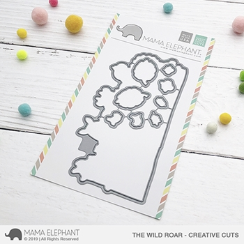 Mama Elephant THE WILD ROAR Creative Cuts Steel Dies