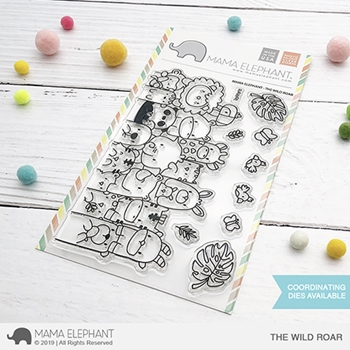 Mama Elephant Clear Stamps THE WILD ROAR