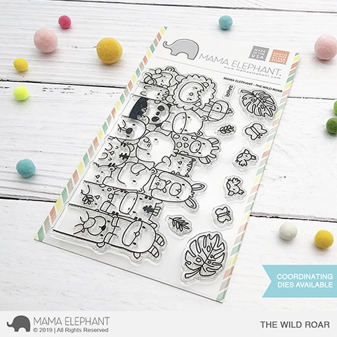 Mama Elephant Clear Stamps THE WILD ROAR zoom image