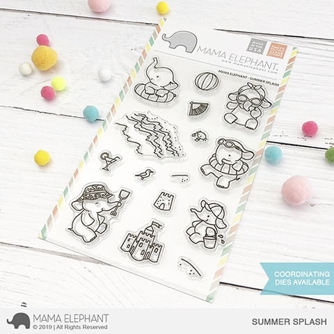 Mama Elephant Clear Stamps SUMMER SPLASH  Preview Image
