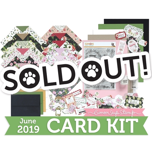 Simon Says Stamp Card Kit of The Month JUNE 2019 LEAFY FRAMES ck0619 Preview Image