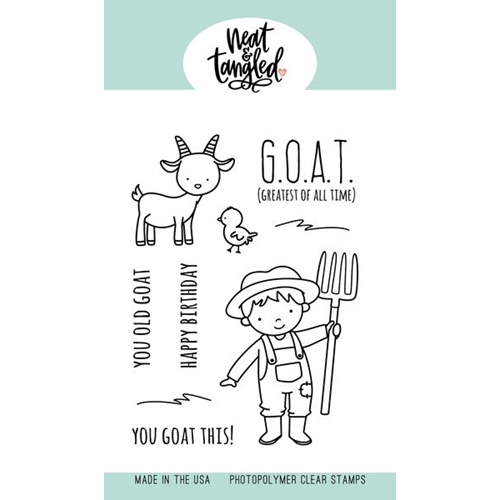Neat and Tangled G.O.A.T. Clear Stamps NAT479 Preview Image