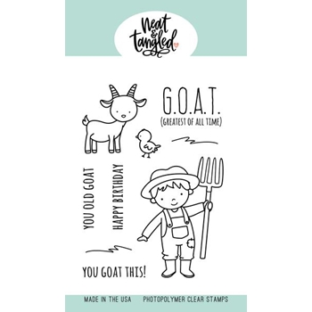 Neat and Tangled G.O.A.T. Clear Stamps NAT479
