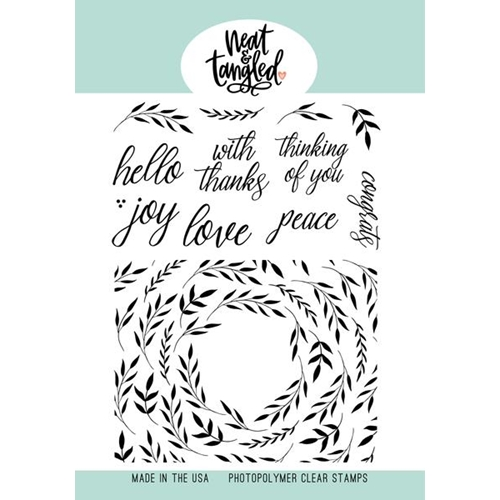 Neat and Tangled FOLIAGE FRAME Clear Stamps NAT474 Preview Image