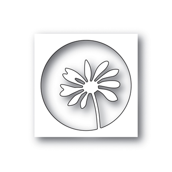 Simon Says Stamp PEEKING DAISY Wafer Die s659 Celebrate You