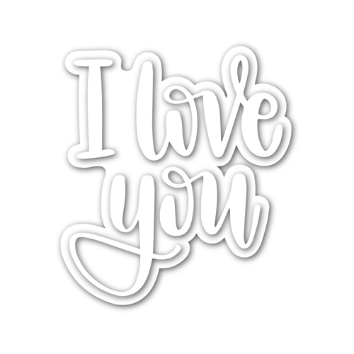 Simon Says Stamp I LOVE YOU Wafer Dies sssd111999 Celebrate You Preview Image