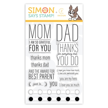 CZ Design Clear Stamps PARENTAL PROPS cz32 Celebrate You