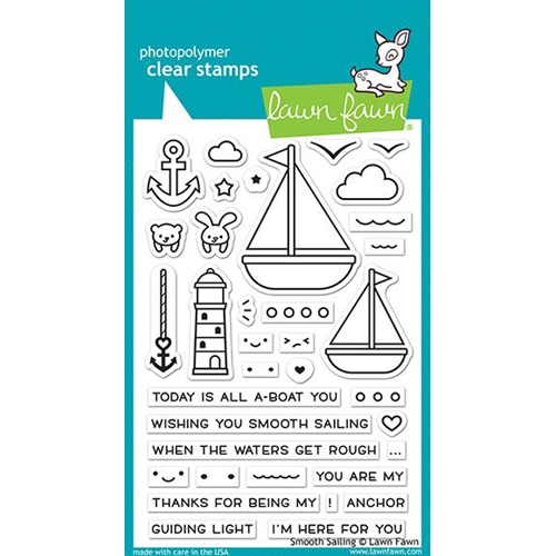 Lawn Fawn SMOOTH SAILING Clear Stamps LF1965 Preview Image