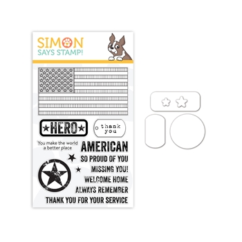 Simon Says Stamps and Dies PATRIOTIC SERVICE set345ps Celebrate You