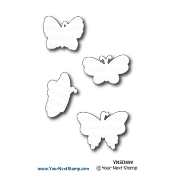 Your Next Die BEAUTIFUL BUTTERFLIES ynsd859