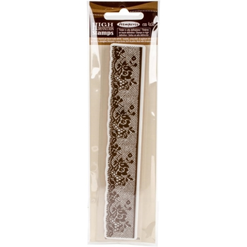 Stamperia LACE WITH ROSES Cling Stamp wtkcc27