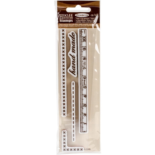 Stamperia HAND MADE Cling Stamp wtkcc96 Preview Image