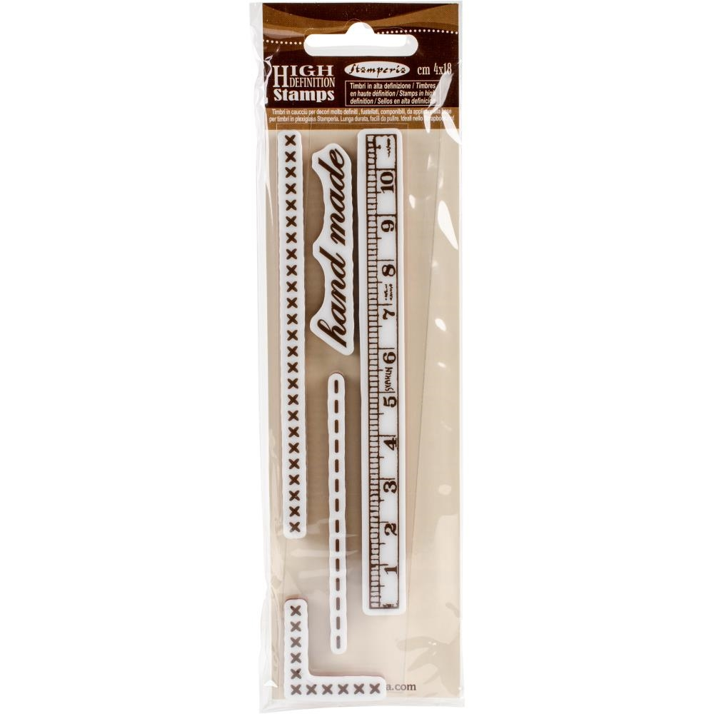 Stamperia HAND MADE Cling Stamp wtkcc96 zoom image
