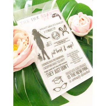 The Ink Road I OBJECT Clear Stamp Set inkr081