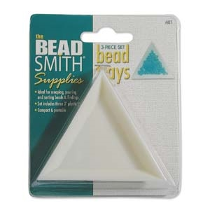 Beadsmith TRI-TRAY 3 PIECE SET at7