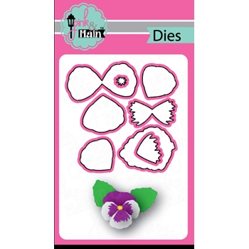 Pink and Main PANSY Dies PNM216