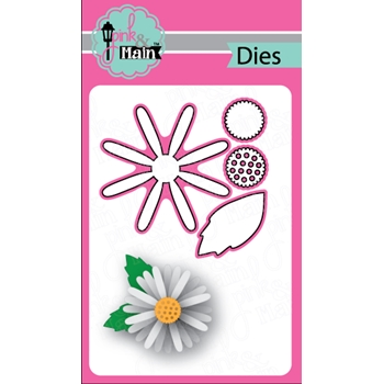 Pink and Main DAISY Dies PNM214