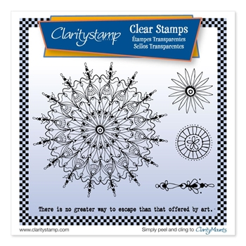 Claritystamp LEONIE'S ART CIRCUS Clear Stamps stapa10684A5*