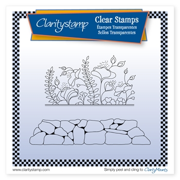 Claritystamp LIZZY AND ROCKERY Clear Stamp and Mask stafl10678A5