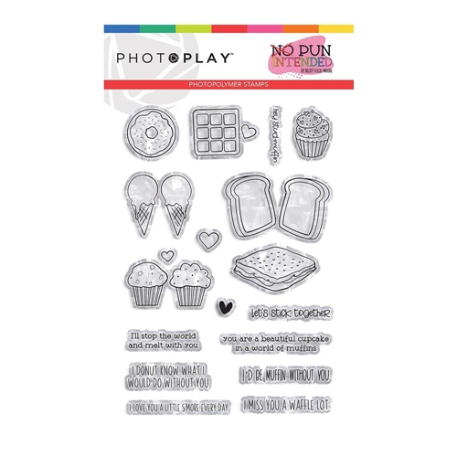 PhotoPlay SWEETS Clear Stamps npi9481 Preview Image
