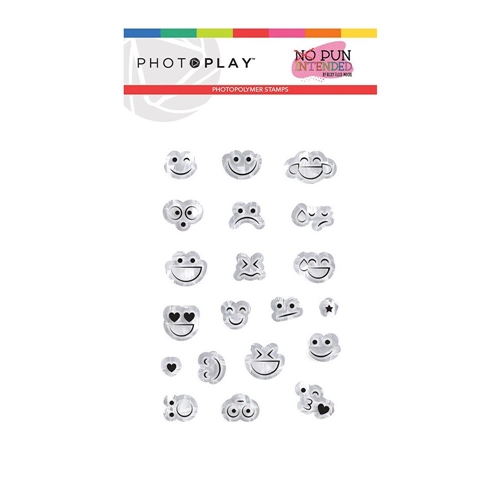 PhotoPlay SMILEY FACES Clear Stamps npi9483 Preview Image