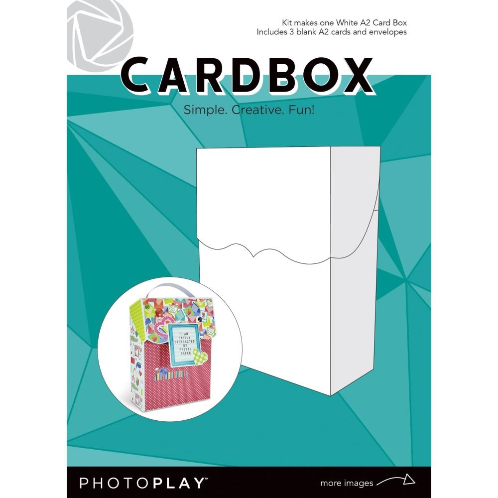 PhotoPlay WHITE A2 CARDBOX Maker's Series ppp9453 zoom image