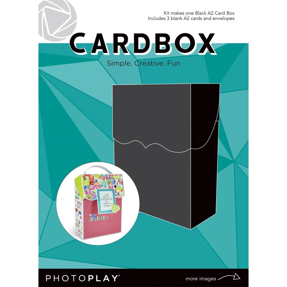 PhotoPlay BLACK A2 CARDBOX Maker's Series ppp9454 zoom image